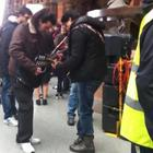 Shahrukh Khan On The Set Of London Ishq