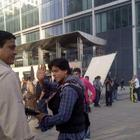 Shahrukh Khan at The Shooting Set Of London Ishq