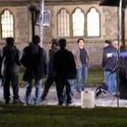 Shahrukh Khan and  Katrina on the sets of Yash Chopra Film