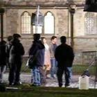 Shahrukh and Katrina Kaif On The Shooting Set Of London Ishq
