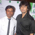 Sonu Nigam at Singer Krisna Party