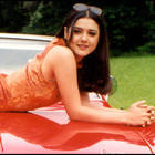 Bollywood Cute Dimple Beauty Preity Zinta Wallpapers