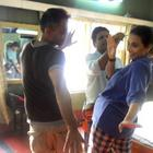 Kahaani Team Having Fun On The Sets
