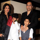 Vipul Shah,Shefali Shah with kids at Equation Sports auction