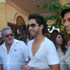 Deepika & Sidharth Mallya with Dad Vijay Mallya