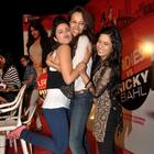 Aditi Parineeti and dipannita at ladies vs ricky bahl promotion
