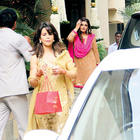 Raveena Tandon at Aishwarya's Baby Shower function