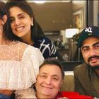 Lovebirds Arjun Kapoor-Malaika Arora Visit Rishi Kapoor in New York