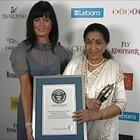 Asha Bhosle...a step towards Guinness World Record