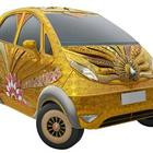 India's Most Expensive Car - The Gold Nano