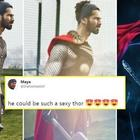 Fans Turn Shahid into a Desi Thor!