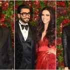 Bollywood Bigwigs Arrive at DeepVeer Reception!