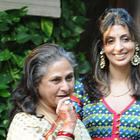 Jaya Bachhan and Daughter Shweta Receiving Guests At Aishwarya Rai's Baby Shower