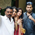 Karan Johar And Urmila Matondkar At Aish Baby Shower