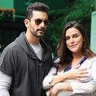 Stay Away Paps, Say Neha Dhupia & Angad Bedi!