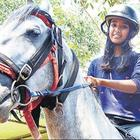 Move Over Knights in Shining Armour - Indian Girl Rides a Horse to Exam!