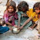 India ranking poorly in global hunger index.