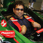 Tendulkar to waving the flag to end the F1 race.