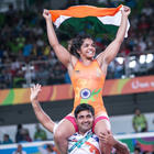 Sakshi Malik Creates History