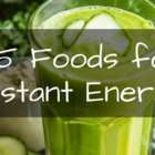 5 Foods That Give Instant Energy.
