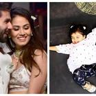 Shahid Confirms Misha is Going to be a Big Sister!