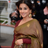Vidya Balan At The Inside Llewyn Davis Premiere At Cannes Film Festival