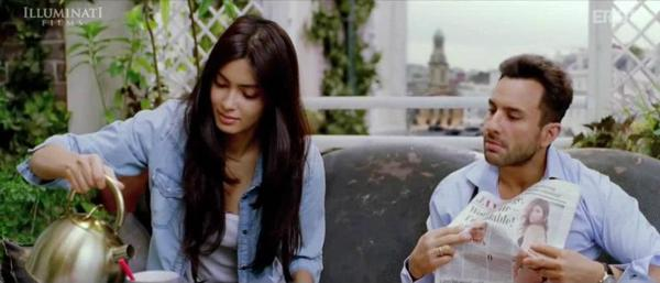 Diana and Saif In Cocktail Movie