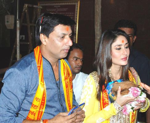 Heroine Movie Music Launch at Siddhivinayak Temple