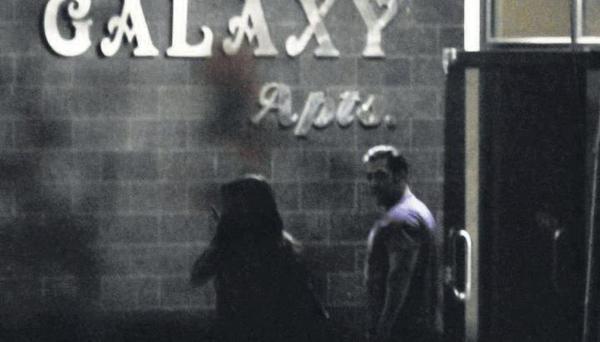 Priyanka Chopra Spotted at Salman's Galaxy Apt