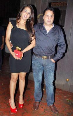 Krishika and Sunil Lulla at Raj Kundras Birthday Bash