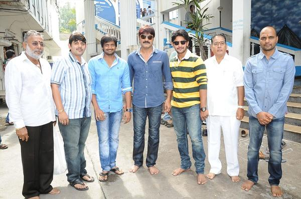 Casts at Sairam Shankar New Movie Opening Event in Hyderabad