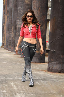 Tamanna Bhatia Latest Hot Photo In Upcoming Tollywood Movie Rebel