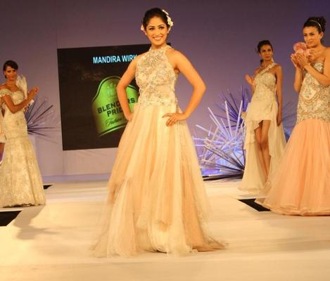 Yami Gautam Walks for Fashion Designer Mandira Wirk at Blenders Pride Tour Day 2