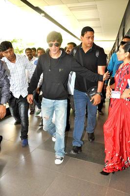 Bollywood Actor Shahrukh Snapped at the Mumbai International Airport
