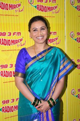 Rani Mukherjee Promote Aiyyaa on Different Radio Stations