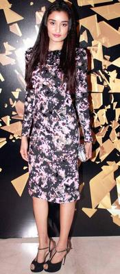 Kanishtha Dhankhar In Bottega Veneta At Elle Beauty Awards 2012
