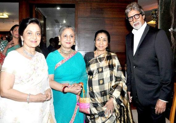 Celebs At Asha Parekhs 70th Birthday Bash