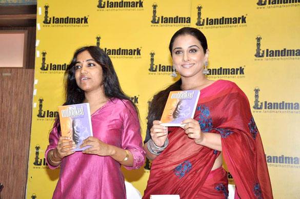Vidya Balan and Munmun Ghosh Launch Unhooked Book