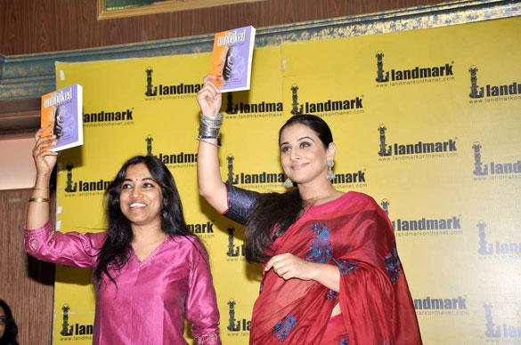 Vidya Balan at Munmun Ghosh's Book Unhooked Launch Event