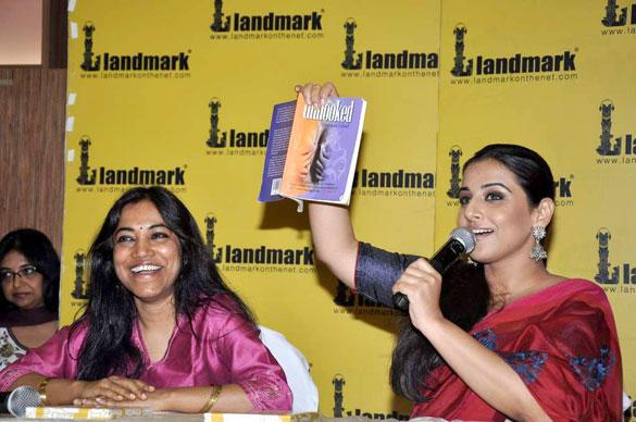 Vidya Balan at The Launch of Munmun Ghosh's Book Unhooked