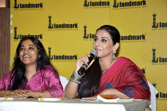 Vidya Balan at Unhooked Book Launch