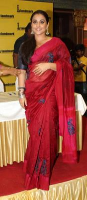 Vidya Balan At Unhooked Book Launching Event