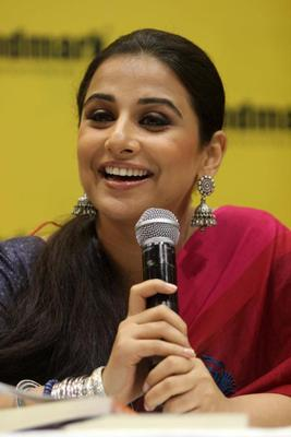 Vidya Smiling Pic At Unhooked Book Launch Party