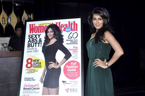 Chitrangada Singh Launches Women's Health Magazine October 2012