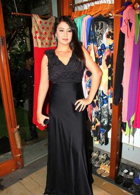 Preeti Jhangiani At Launch Of Fuel Store