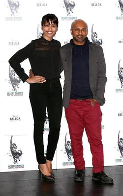 Freida And Akram During At The Desert Dancer Photocall Event