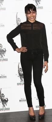 Freida Pinto At The Photocall For Her Upcoming Film Desert Dancer