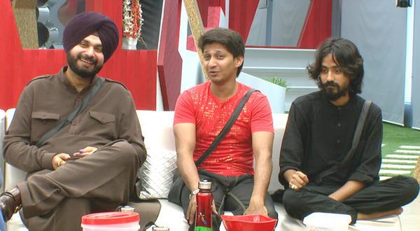 Navjot,Dinesh And Aseem At Bigg Boss