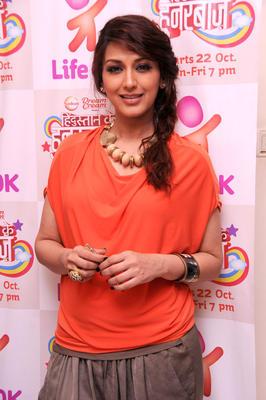 Sonali Bendre Promoting Hindustan Ke Hunarbaaz Talent Show