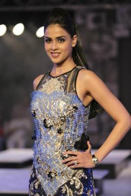 Genelia The Sizzling Beauty Still At Blenders Pride Fashion Tour In Gurgaon